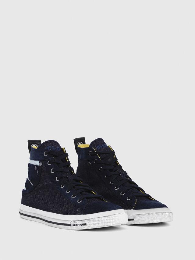 Diesel - EXPOSURE I, Blu Scuro - Sneakers - Image 2