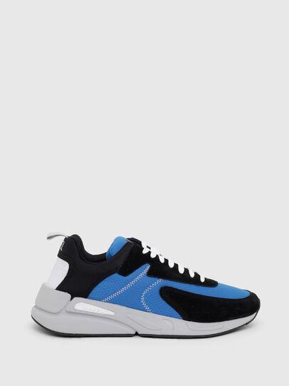 Diesel - S-SERENDIPITY LOW CU, Nero/Blu - Sneakers - Image 1