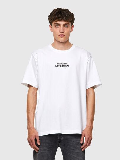 Diesel - T-TUBOLAR-B3, Bianco - T-Shirts - Image 1