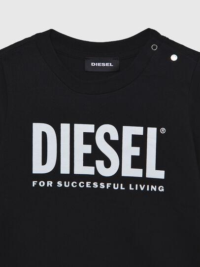 Diesel - TJUSTLOGOB ML, Nero - T-shirts e Tops - Image 3