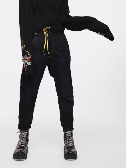 Diesel - Fayza JoggJeans 069BA, Blu Scuro - Jeans - Image 1