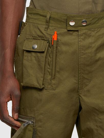 Diesel - P-CYAN, Verde Militare - Pantaloni - Image 3