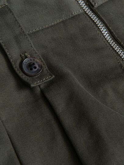 Diesel - PEDEN, Verde Scuro - Shorts - Image 3