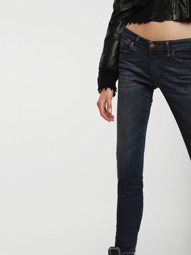 Diesel - Gracey 085AE, Blu Scuro - Jeans - Image 3