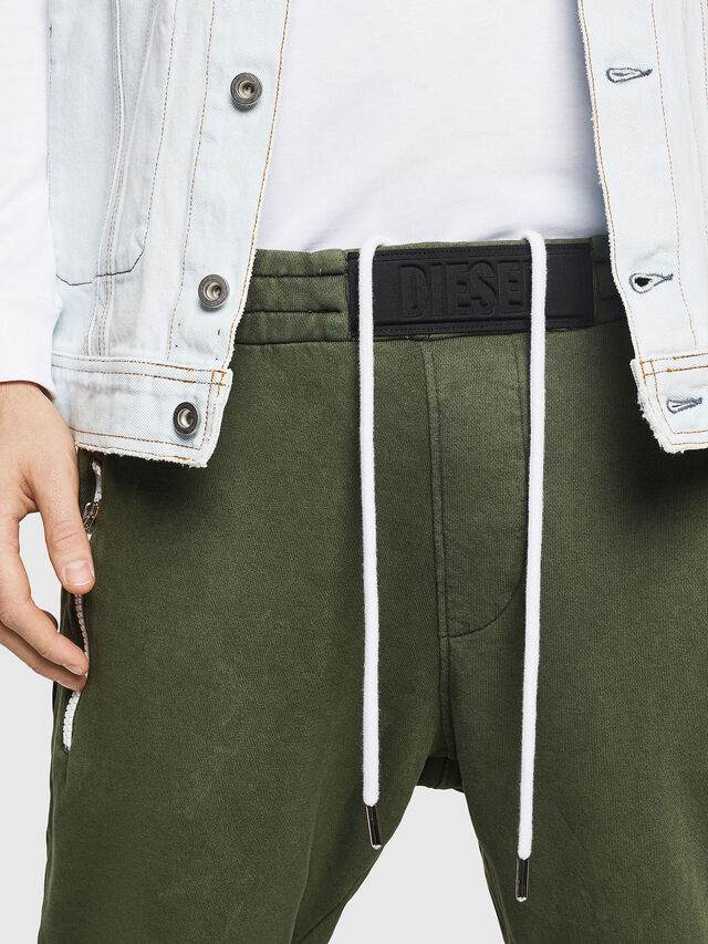 Diesel - P-TA, Verde Scuro - Pantaloni - Image 3