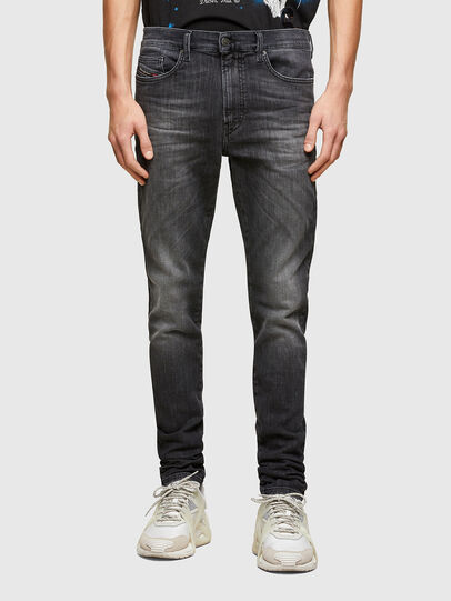 Diesel - D-Reeft JoggJeans® 009SU, Nero/Grigio scuro - Jeans - Image 1