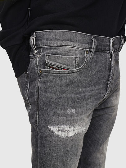 Diesel - Tepphar 0890F, Grigio Chiaro - Jeans - Image 3