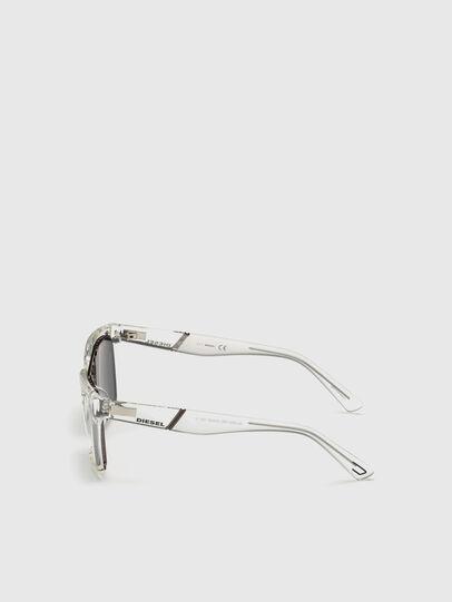 Diesel - DL0250, Bianco - Occhiali da sole - Image 3