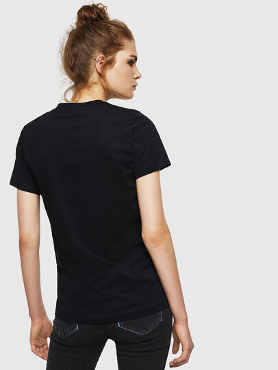 Diesel - T-SILY-WN, Nero - T-Shirts - Image 2