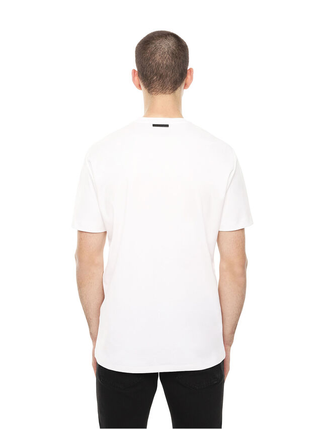 Diesel - TY-DRIPPING, Bianco - T-Shirts - Image 2