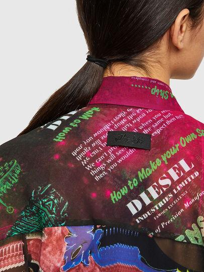 Diesel - C-CASEYL, Nero/Rosa - Camicie - Image 3