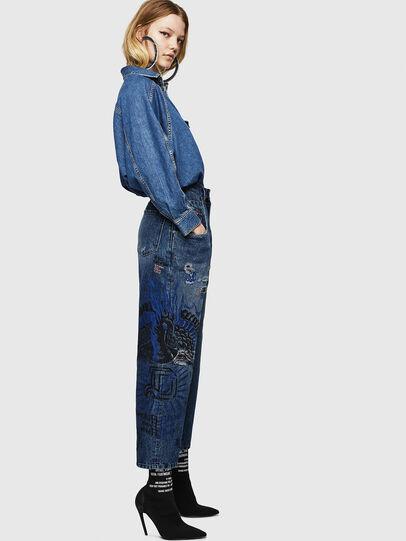 Diesel - Widee 0092Z, Blu medio - Jeans - Image 7