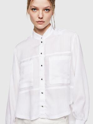 C-SUPER-E, Bianco - Camicie