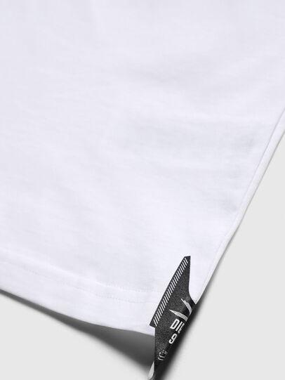 Diesel - TJUSTY7, Bianco - T-shirts e Tops - Image 4