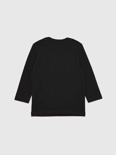 Diesel - TJUSTLOGOB ML-R, Nero - T-shirts e Tops - Image 2