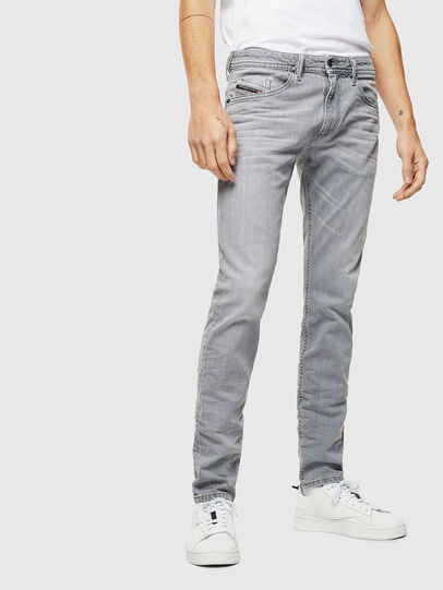 Diesel - Thommer 0890E, Grigio Chiaro - Jeans - Image 1