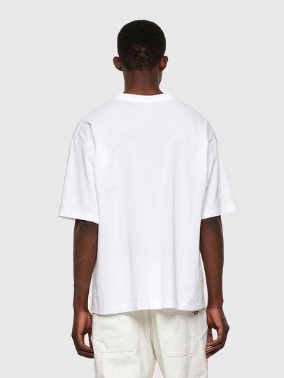 Diesel - T-BALM-B1, Bianco - T-Shirts - Image 2