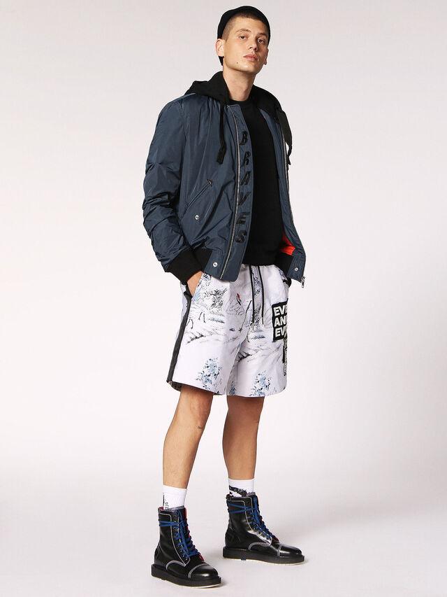 Diesel - P-GROUND, Bianco - Shorts - Image 6