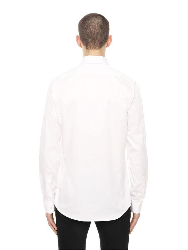 Diesel - SIRRIVE-CACTUS, Bianco - Camicie - Image 2