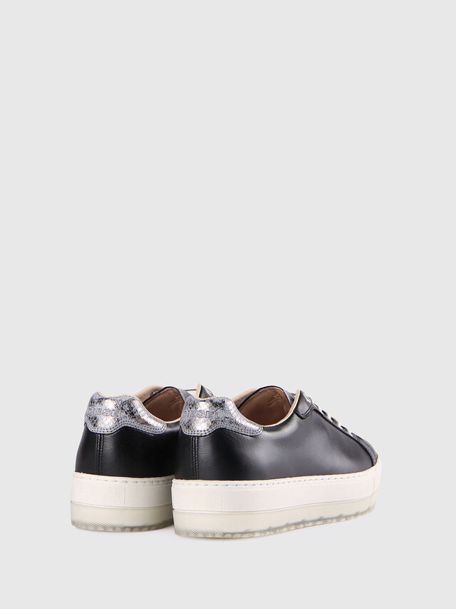 Diesel - S- ANDYES W, Nero/Argento - Sneakers - Image 3