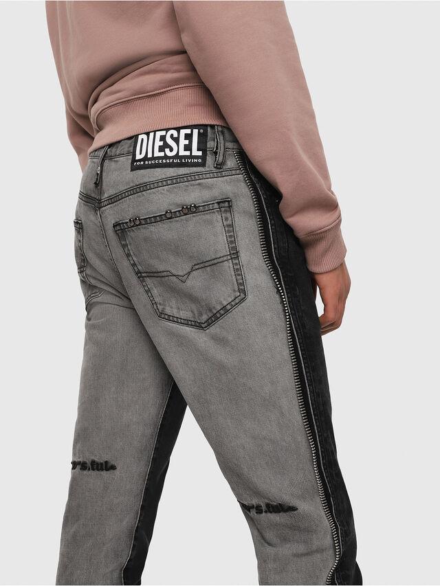 Diesel - Mharky 082AN, Nero/Grigio scuro - Jeans - Image 4