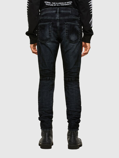 Diesel - D-Strukt JoggJeans® 069TG, Nero/Grigio scuro - Jeans - Image 2