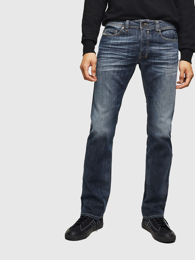 Diesel - Safado 0885K, Blu Scuro - Jeans - Image 1