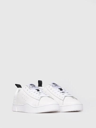 Diesel - S-CLEVER LOW W, Bianco Vivo - Sneakers - Image 2