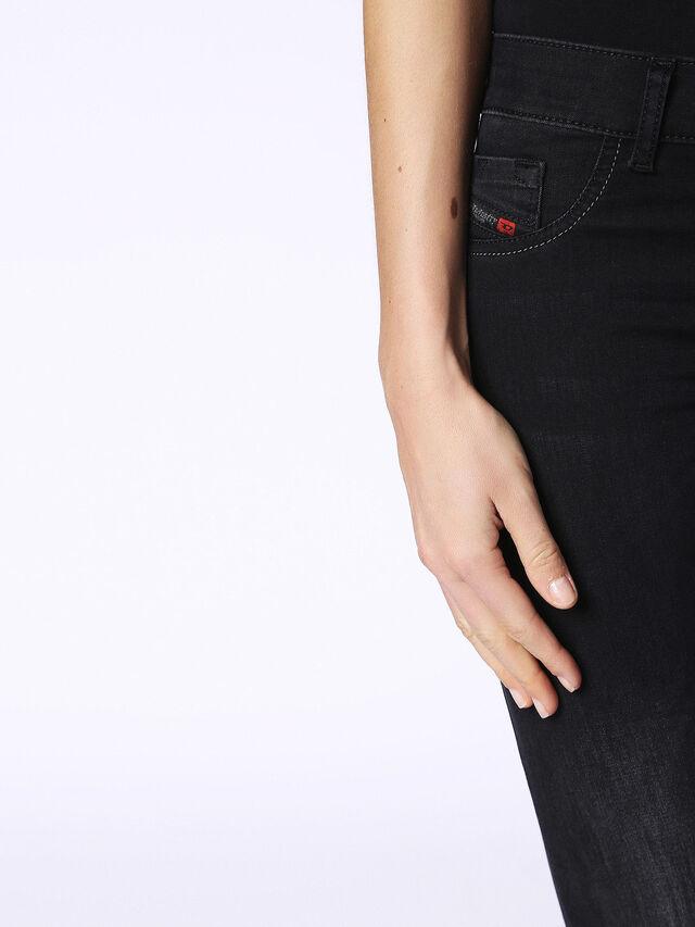 LIVIER-S 0684J, Nero Jeans