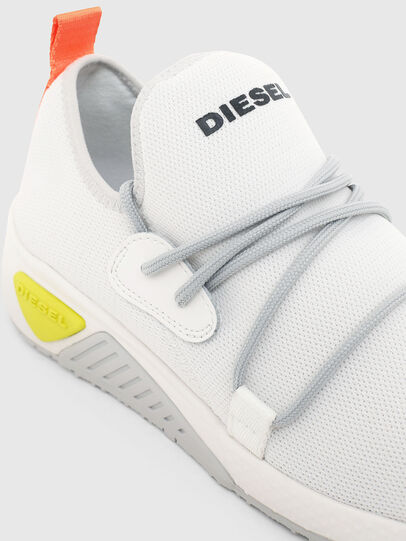 Diesel - S-KB SLE W, Bianco - Sneakers - Image 4
