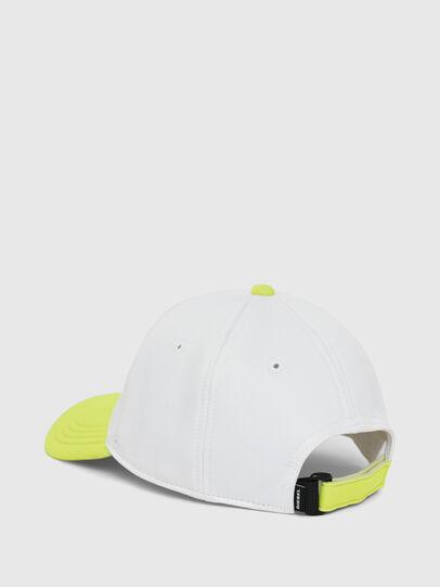 Diesel - DURBO, Bianco/Giallo - Cappelli - Image 2