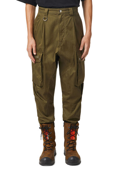 Pantaloni cargo Green Label
