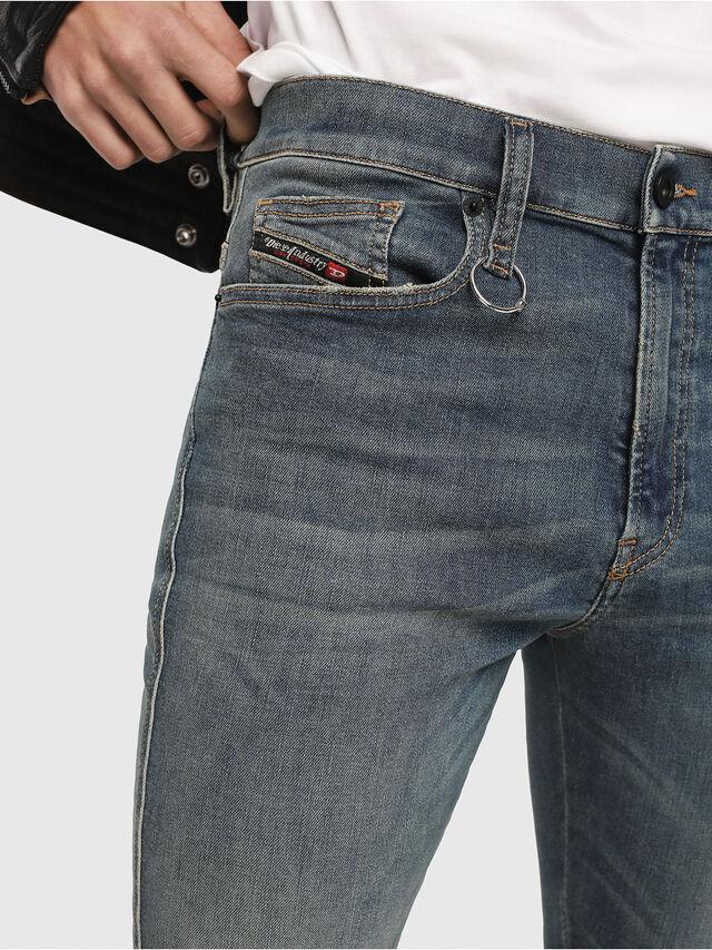Diesel - D-Istort 085AZ, Blu medio - Jeans - Image 3