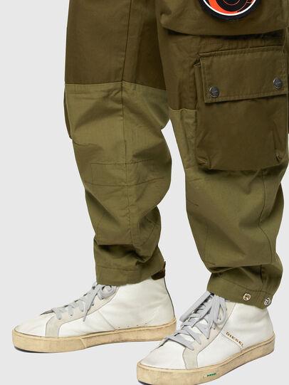 Diesel - P-CYAN, Verde Militare - Pantaloni - Image 5