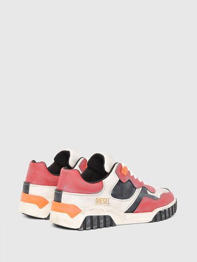 Diesel - S-RUA LOW SK, Bianco/Rosso - Sneakers - Image 3
