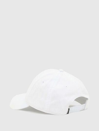 Diesel - CONDI-MAX, Bianco - Cappelli - Image 2