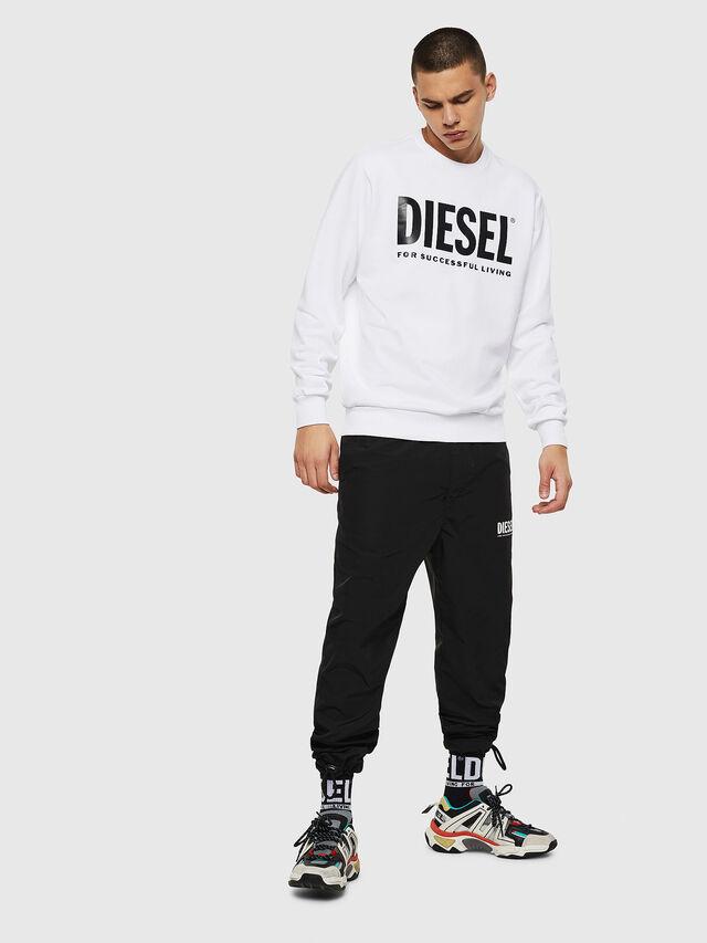 Diesel - S-GIR-DIVISION-LOGO, Bianco - Felpe - Image 4