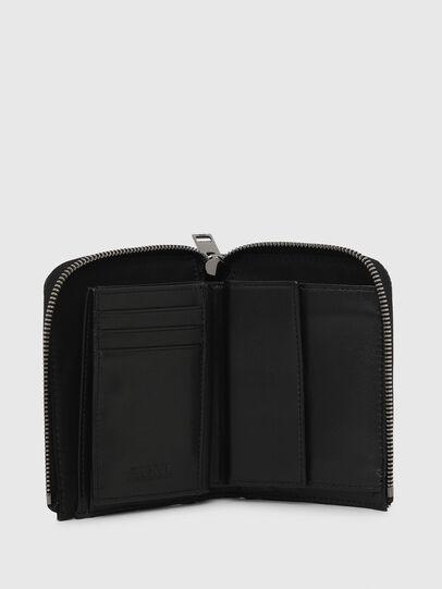 Diesel - L-12 ZIP, Nero/Bianco - Portafogli Con Zip - Image 3