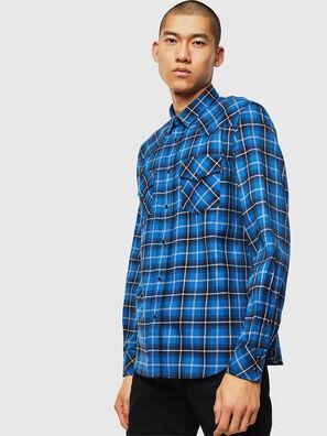 S-EAST-LONG-N, Blu - Camicie