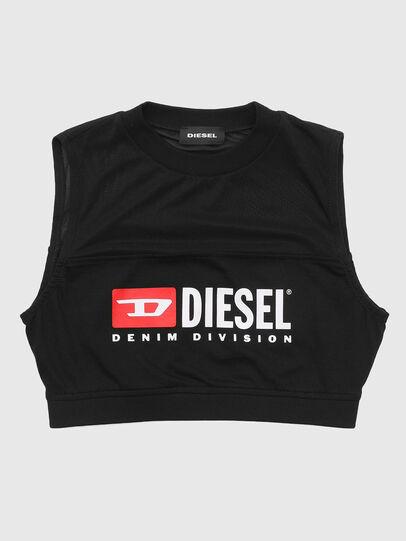 Diesel - TGIORGIT, Nero - T-shirts e Tops - Image 1