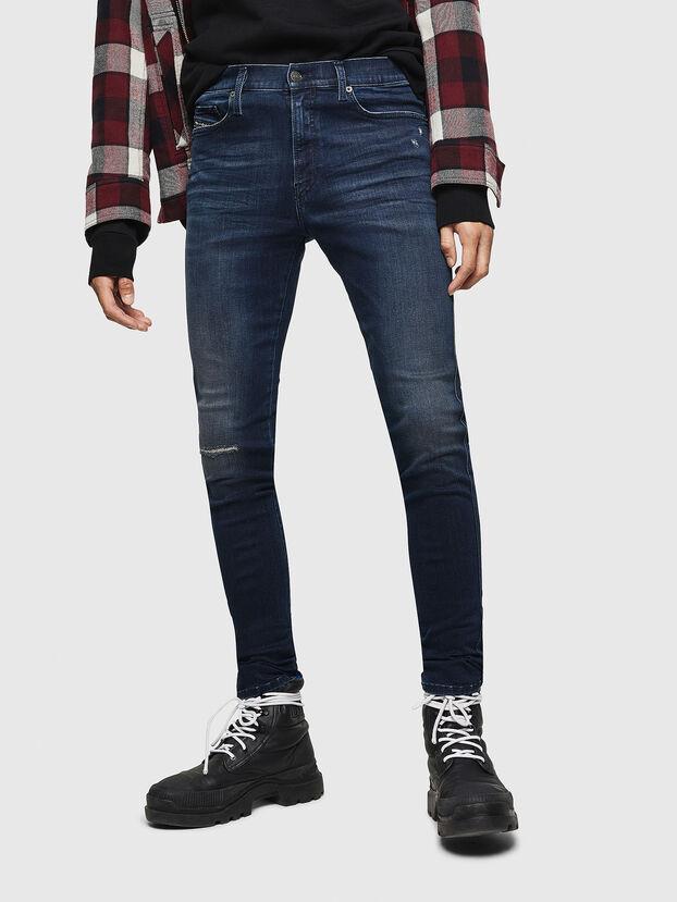 D-Istort 0870C, Blu Scuro - Jeans