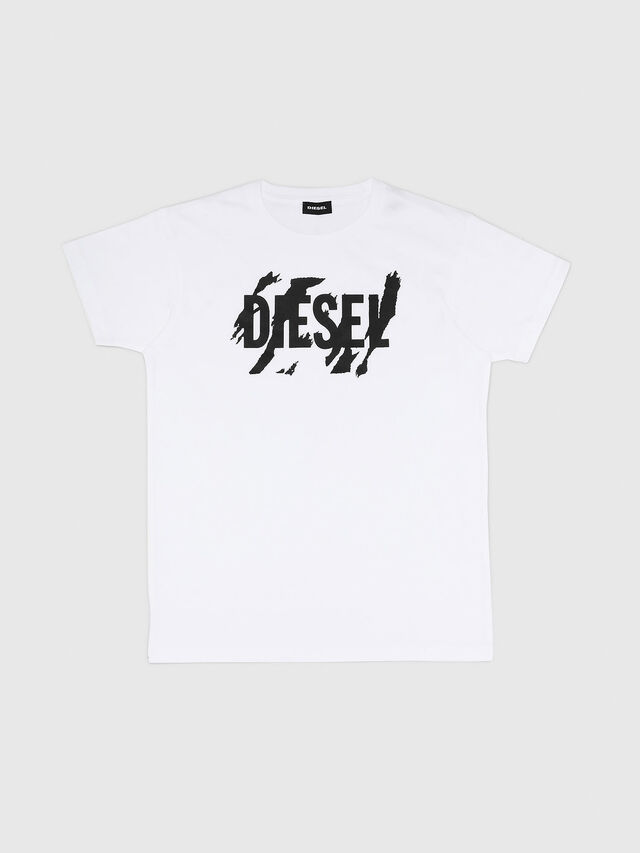 Diesel - TLUCAS MC, Bianco - T-shirts e Tops - Image 1