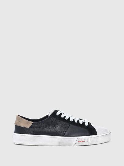 Diesel - S-MYDORI LC, Nero/Beige - Sneakers - Image 1