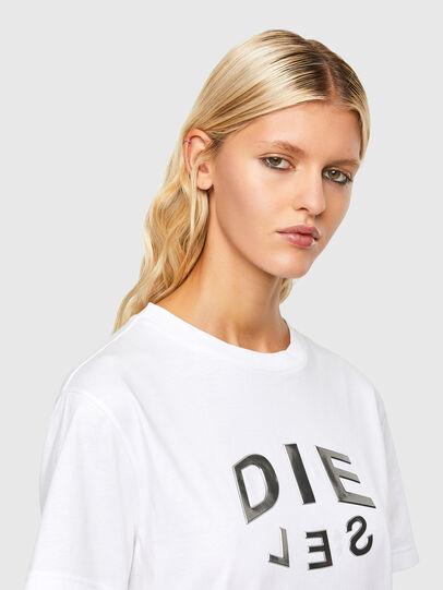 Diesel - T-DARIA-R1, Bianco - T-Shirts - Image 3