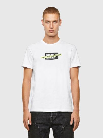 Diesel - T-DIEGOS-A3, Bianco - T-Shirts - Image 1