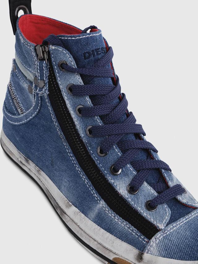 Diesel - EXPO-ZIP W, Blu Jeans - Sneakers - Image 4