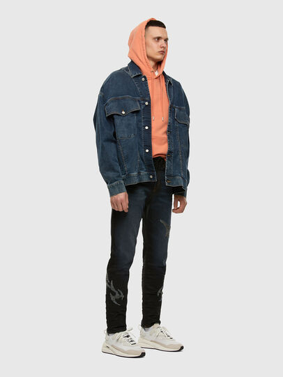Diesel - D-Vider JoggJeans 009HE, Blu Scuro - Jeans - Image 7