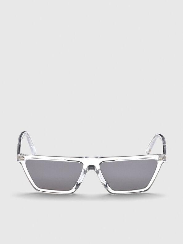 DL0304, Bianco - Occhiali da sole