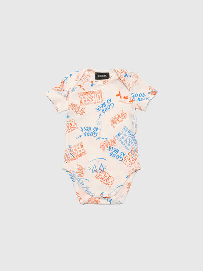 Diesel - ULENT-NB, Bianco/Arancione - Underwear - Image 1