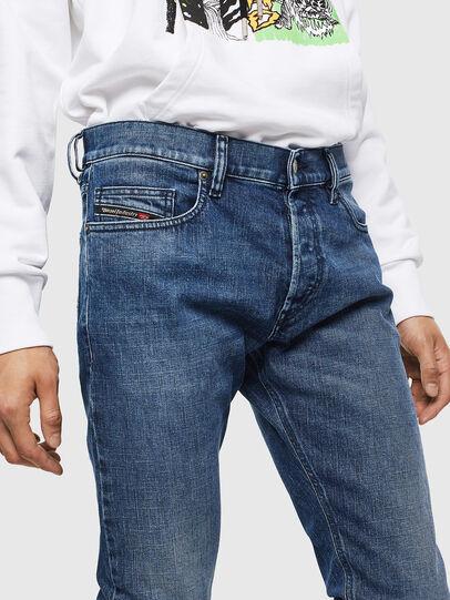 Diesel - D-Luster 0095H, Blu medio - Jeans - Image 3